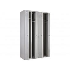 Металлический шкаф для одежды ПРАКТИК СТАНДАРТ LS-41
