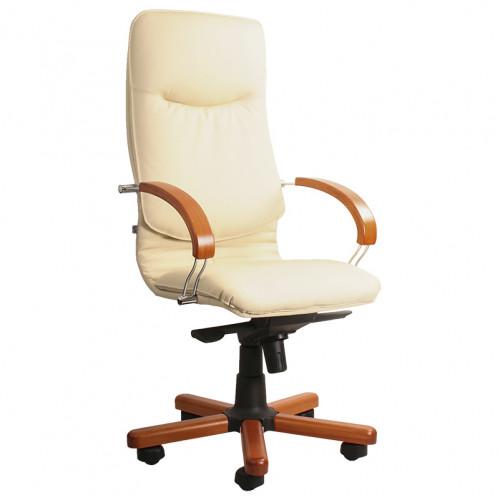 Офисное кресло Нова Вуд Хром (Nova Wood Chrome)