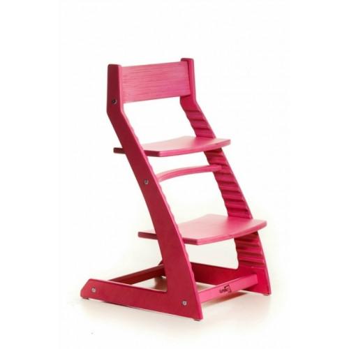 Детский растущий стул Котокота Ярко-розовый