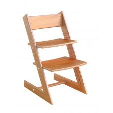 Детский растущий стул Конёк Горбунёк (бук) Светлый