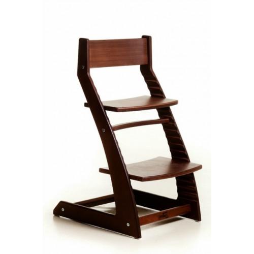 Детский растущий стул Котокота Темное дерево