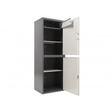 Металлический бухгалтерский шкаф AIKO SL-125/2T EL (125T EL/2)