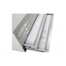 Металлический картотечный шкаф (картотека) ПРАКТИК A1-05/3 (НИЗ)