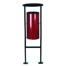 Металлическая урна для мусора УК-1