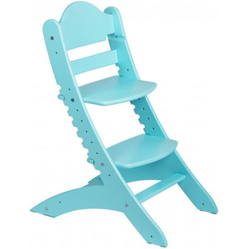 Детский растущий стул Два Кота Бирюза