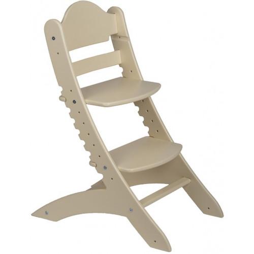 Детский растущий стул Два Кота Слоновая кость