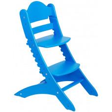 Детский растущий стул Два Кота Синий