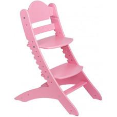 Детский растущий стул Два Кота Розовый