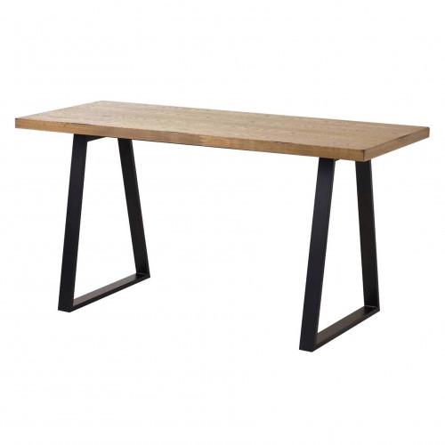 Обеденный деревянный стол ЛОФТ-1