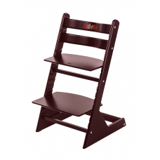 Детский растущий стул Kid Fix Махагон