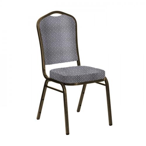Обеденный металлический стул Молот 20 мм