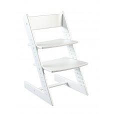Детский растущий стул Конёк Горбунёк (бук) Белый