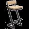 Барные высокие стулья в стиле лофт